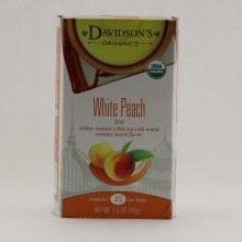 Davidson's White Peach Tea 1.5 oz