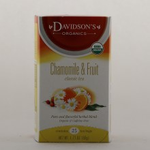 Davidsons Chamomile  and  Fruit Tea