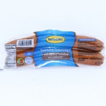 Butterball Natural Hardwood Smoked Turkey Sausage 68Per Cent Less Fat No MSG 14 oz