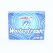 Wrigley's Winterfresh Gum 15 pc