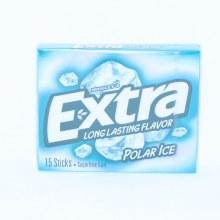 Wrigley's Extra Polar Ice Long Lasting Flavor Gum, Sugar Free Gum  15 sticks
