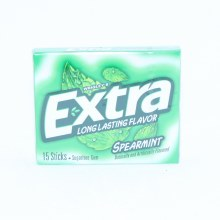 Wrigley's Extra Spearmint Long Lasting Flavor Gum, Sugar Free Gum 15 sticks
