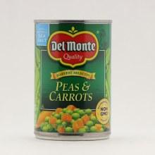 Del Monte peas carrots