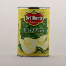 Del Monte sliced pears 15.25 oz