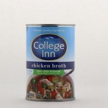 College Inn Chicken Broth 50Per Cent Less Sodium 14.5 oz