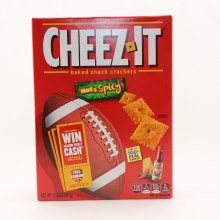 Cheez-it Hot Spicy Crackers
