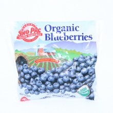 Sno Pac Organic Blueberries 10 oz