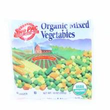 Sno Pac Organic Mixed Vegetables 10 oz 10 oz