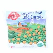 Sno Pac Organic Peas and Carrots 10 oz 10 oz