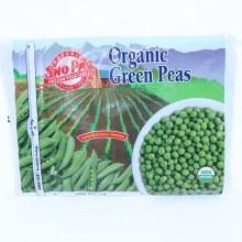 SnoPac Organic Green Peas, 80oz.  80 oz