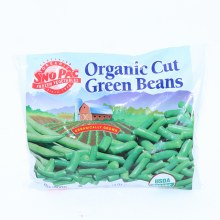 Sno Pac Organic Cut Green Beans 10 oz 10 oz