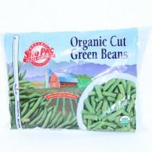 SnoPac Organic Cut Green Beans, 80oz. 80 oz