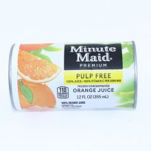 Minute Maid Pulp Free Frozen Concentrated  Orange Juice