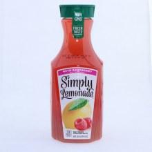 Simply Lemonade Raspberry