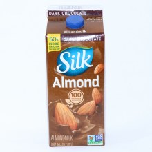 Silk Dark Chocolate Almond Milk Non GMO Dairy  and  Lactose Free Gluten Free Soy Free Carrageenan Free No Saturated Fat Cholesterol Free No Artificial Colors or Flavors 64 oz