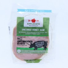 Applegate Naturals Uncured Honey Ham  No Antibiotics Added  Gluten and Casein Free