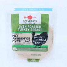 Applegate Naturals Oven Roasted Turkey Breast  No Antibiotics  No Nitrates  Gluten  and  Casein Free