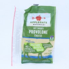 Applegate Provolone Cheese Not Smoked Non GMO 8 Slices 6 oz