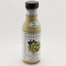 Briannas Home Style Champagne Vinaigrette Dressing Fabulous for Marinating No Gluten No High Fructose Corn Syrup No MGG