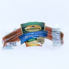 Eckrich Beef Smoked Sausage Skinless and Naturally Hardwood Smoked