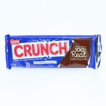Nestle Crunch Milk Chocolate Bar with Crisped Rice, No Artificial Flavors or Colors, Made with 100% Real Chocolate 1.55 oz