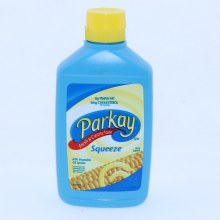 Parkay Squeeze 60Per Cent Vegetable Oil Spread. 0g Trans Fat 0mg Cholesterol.  12 oz