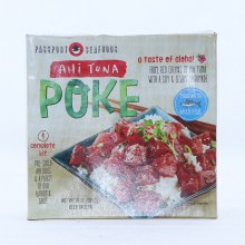 Ahi Tuna Poke, Firm, Red Chunks of Ahi Tuna with a Soy & Sesame Marinade, Made with Wild Fish, 10 oz 10 oz