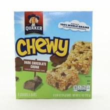 Quaker Chewy Bars Drk Choc