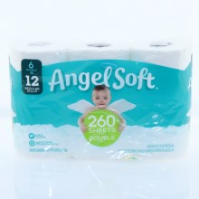 Angel Soft Unscented Bathrooom Tissue
