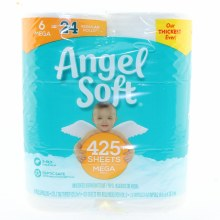 Angel Soft 6 Mega Rolls