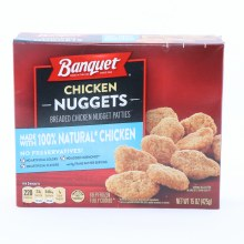 Banquet Chicken Nuggets No Artificial Colors No Artificial Flavors 15 oz 15 oz