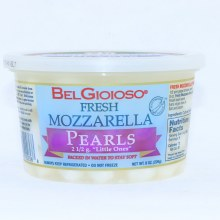 "BelGioioso Fresh Mozzarella Pearls  2 1/2 g. ""Little Ones"""