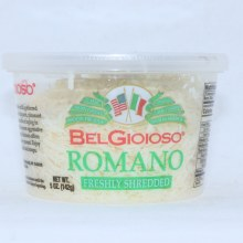 BelGioioso Freshly Shredded Romano Cheese