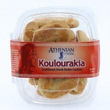 Koulourakia, Traditional Greek Butter Cookies  8 oz