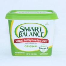 Smart Balance Original Buttery Spread. 16 oz