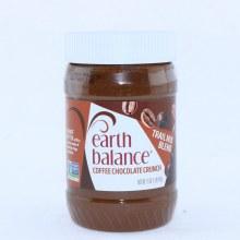 Earth Balance Coffee Chocolate Crunch Peanut Butter, Gluten Free, Vegan 16 oz