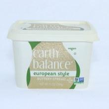 Earth balance  European Style Butter spread. Vegan. Non GMO.  10 oz