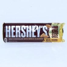 Herseys Almond King Sized Chocolate  2.6 oz
