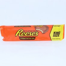 Reese's Milk Chocolate Peanut Butter Cups, King Size  2.8 oz