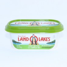 Land O Lakes Light Butter Spread with Canola Oil  8 oz