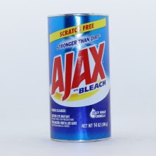 Ajax with Bleach Scratch Free Stronger than Dirt Powder Cleanser Easy Rinse Formula