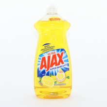 Ajax Ultra Super Degreaser Lemon Dish Liquid With 100Per Cent Real Citrus Extract