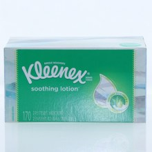 Kleenex Soothing Lotion 2-Ply Tissues With Pure Aloe & E  170 ct