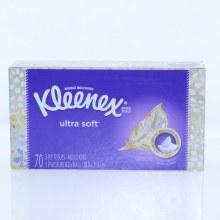 Kleenex Ultra Soft 3-Ply Tissues, Ultimate Softness 70 ct