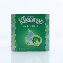 Kleenex Soothing Lotion, 2-Ply Tissues with Avec Pure Aloe & E 50 ct