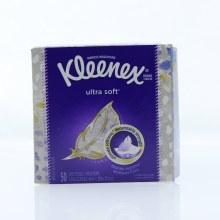 Kleenex Ultra Soft 3-Ply Tissue, Ultimate Softness 50 ct
