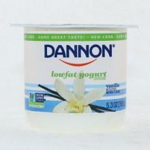 Dannon Vanilla Yogurt