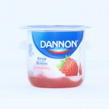 Dannon Strawberry Yogurt