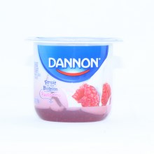 Dannon Raspberry Yogurt 5.3oz Lowfat Yogurt Gluten Free 6 oz