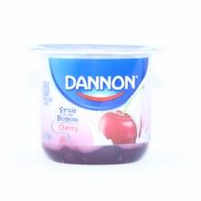 Dannon  Cherry Yogurt  5.3oz  Gluten Free  lowfat Yogurt 6 oz